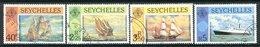 Seychelles 1981 Ships Set Used (SG 495-498) - Seychelles (1976-...)