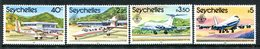 Seychelles 1981 Tenth Anniversary Of Opening Of Seychelles International Airport Set MNH (SG 514-517) - Seychelles (1976-...)