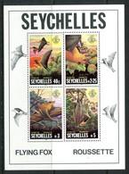 Seychelles 1981 Flying Fox MS MNH (SG MS522) - Seychelles (1976-...)