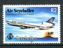 Seychelles 1983 First International Flight Of Air Seychelles MNH (SG 567) - Seychelles (1976-...)