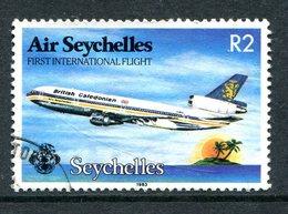 Seychelles 1983 First International Flight Of Air Seychelles Used (SG 567) - Seychelles (1976-...)