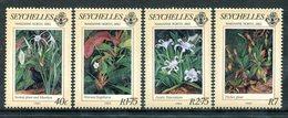 Seychelles 1983 Centenary Of Visit To Seychelles By Marianne North - Botanic Artist Set MNH (SG 568-571) - Seychelles (1976-...)