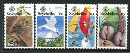 Seychelles 1985 Expo '85 World Fair, Japan Set MNH (SG 609-612) - Seychelles (1976-...)