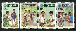 Seychelles 1985 International Youth Year Set MNH (SG 624-627) - Seychelles (1976-...)