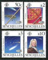 Seychelles 1986 Appearance Of Halley's Comet Set MNH (SG 632-635) - Seychelles (1976-...)