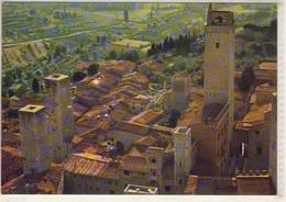 SAN GIMIGNANO SIENA VEDUTA AEREA  VIAGGIATA - Italie