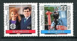 Seychelles 1986 Royal Wedding Set MNH (SG 651-652) - Seychelles (1976-...)