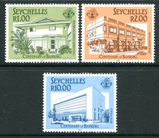 Seychelles 1987 Centenary Of Banking In Seychelles Set MNH (SG 671-673) - Seychelles (1976-...)