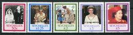 Seychelles 1987 Royal Ruby Wedding Set MNH (SG 674-678) - Seychelles (1976-...)