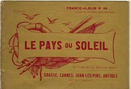 Alpes Maritimes 06 France Album De A. KARL, Carte Gravures Texte Publicités 1896 - Dépliants Touristiques