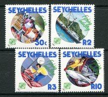 Seychelles 1987 Fishing Industry Set MNH (SG 679-682) - Seychelles (1976-...)