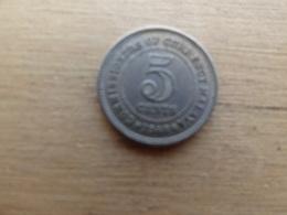 Malaya  5  Cents  1948  Km 7 - Malaysie
