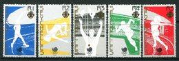Seychelles 1988 Olympic Games, Seoul - Simple Set Of 5 MNH (SG 691-699) - Seychelles (1976-...)