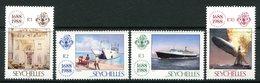 Seychelles 1988 300th Anniversary Of Lloyds List Set MNH (SG 701-704) - Seychelles (1976-...)