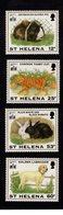 628669825 SINT HELENA 1994 ** MNH SCOTT 619 620 621 622 PETS  - PIG -TABBY CAT - RABITS - GOLDEN LABRADOR - ANIMALS - Sainte-Hélène