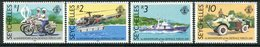 Seychelles 1988 First Anniversary Of Defence Forces Day Set MNH (SG 705-708) - Seychelles (1976-...)