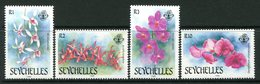Seychelles 1988 Orchids - 1st Issue Set MNH (SG 713-716) - Seychelles (1976-...)