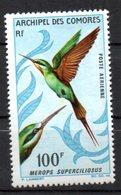Col10 / Comores Archipel PA : N° 21   Neuf X MH , Cote : 14,50 € - Poste Aérienne
