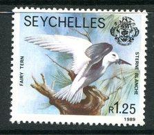 Seychelles 1989-91 Wildlife - 1989 Imprint Date - 1r25 White Tern MNH (SG 735) - Seychelles (1976-...)