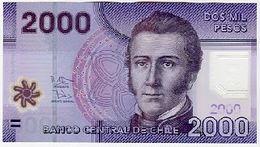 Chili Chile 2000 Pesos 2013 P162 - Chili