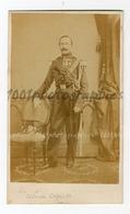 """CDV G. Vanrymenant Photographie, Louvain. Portrait Du Colonel Chollet. Annotation Au Dos, Voir Scan.""""tenue 1851_185 - Photographs"""