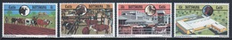 Botswana Set Of Stamps From 1981 To Celebrate The Cattle Industry. - Botswana (1966-...)