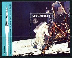 Seychelles 1989 20th Anniversary Of First Manned Landing On The Moon MS MNH (SG MS750) - Seychelles (1976-...)