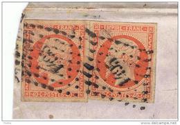16 - Losange PC 1495 - LE HAVRE Pour Honfleur (Raffinerie De Sucre) - 1849-1876: Période Classique