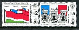 Seychelles 1989 Bicentenary Of French Revolution Set MNH (SG 760-761) - Seychelles (1976-...)