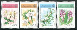 Seychelles 1990 Orchids - 2nd Issue Set MNH (SG 767-770) - Seychelles (1976-...)
