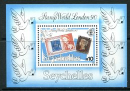 Seychelles 1990 Stamp World London '90 MS MNH (SG MS775) - Seychelles (1976-...)
