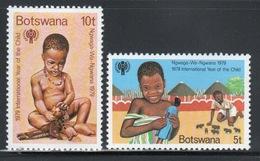 Botswana Set Of Stamps From 1979 To Celebrate Year Of The Child. - Botswana (1966-...)