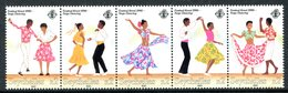 Seychelles 1990 Kreol Festival - Sega Dancing Set MNH (SG 788-792) - Seychelles (1976-...)