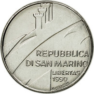 Monnaie, San Marino, 100 Lire, 1990, Rome, SPL, Steel, KM:254 - Saint-Marin