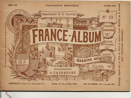 Manche 50 France Album De A. KARL, Carte Gravures Texte Publicités 1894 - Dépliants Touristiques