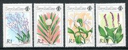Seychelles 1991 Orchids - 3rd Issue Set MNH (SG 795-798) - Seychelles (1976-...)