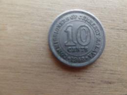 Malaya  10  Cents  1948  Km 8 - Malaysie