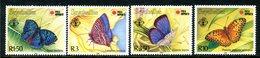 Seychelles 1991 PhilaNippon '91 - Butterflies Set MNH (SG 801-804) - Seychelles (1976-...)