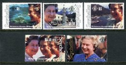 Seychelles 1992 40th Anniversary Of Queen Elizabeth II's Accession Set MNH (SG 810-814) - Seychelles (1976-...)