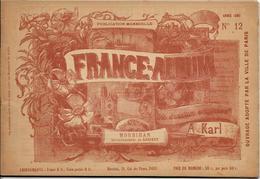 Morbihan France Album De A. KARL, Carte Gravures Texte Publicités 1893 - Dépliants Touristiques