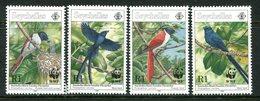 Seychelles 1996 Endangered Species - Paradise Flycatcher Set MNH (SG 856-859) - Seychelles (1976-...)