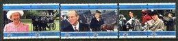 Seychelles 1997 Golden Wedding Of Queen Elizabeth II And Prince Philip Set MNH (SG 876-881) - Seychelles (1976-...)