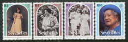 Seychelles 2000 Queen Elizabeth The Queen Mother's 100th Birthday Set MNH (SG 897-900) - Seychelles (1976-...)