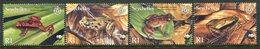 Seychelles 2003 Endangered Species - Frogs Set MNH (SG 917-920) - Seychelles (1976-...)