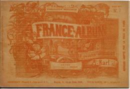 DOUBS 25 France Album De A. KARL, Carte Gravures Texte Publicités 1893 - Dépliants Touristiques