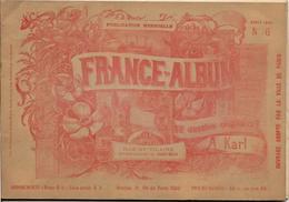 Ile Et Vilaine France Album De A. KARL, Carte Gravures Texte Publicités 1893 - Dépliants Touristiques
