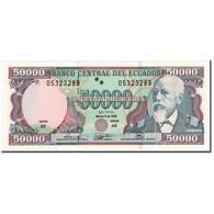 Billet, Équateur, 50,000 Sucres, 1999-03-06, KM:130b, NEUF - Equateur