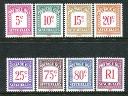 Seychelles 1980 Postage Dues Set MNH (SG D11-D18) - Seychelles (1976-...)