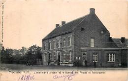 Maasmechelen - Mechelen S/M - L' Imprimerie à Vapeur Smeets Et Le Bureau Des Postes Et Télégraphes - Maasmechelen