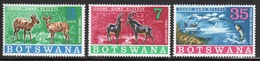 Botswana 1967 Set Of Stamps To Celebrate The Chobe Game Reserve. - Botswana (1966-...)